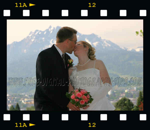 switzerland wedding photo kiss photography