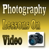 photography lessons on video banner