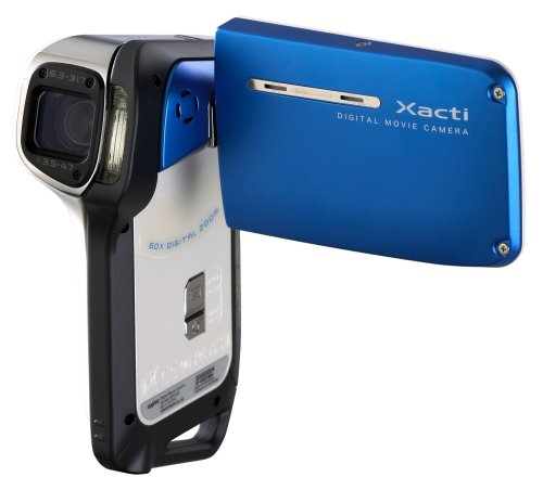 Sanyo Xacti VPC-E2 Waterproof Digital Camcorder with 8 megapixel digital camera